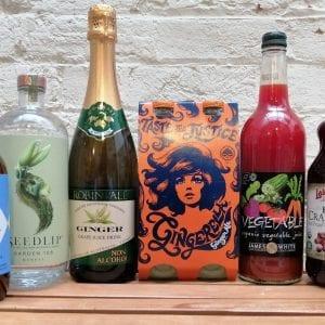 Juice, Mylk, Kombucha, Soda Stream, Cider Vinegar & Non-Alcoholic Drinks